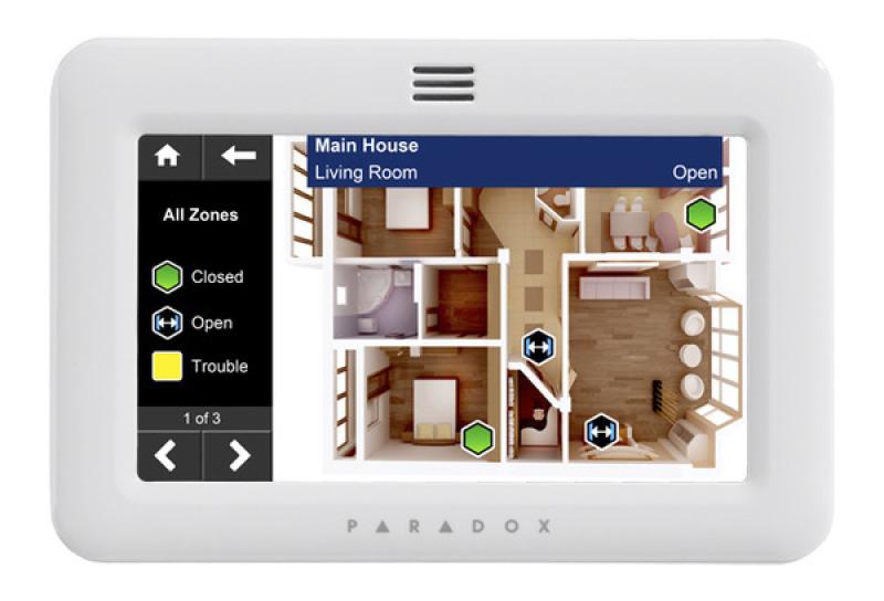 Alarmsystem Paradox Touchscreen günstig in Berlin Kreuzberg Schöneberg kaufen